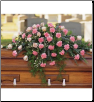 Casket Spray Heavenly Soft Pink
