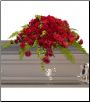 Casket Spray Red Rose Sanctuary