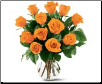 Spicy Orange Roses