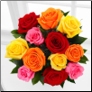 A Pleasant Surprise Rose Bouquet
